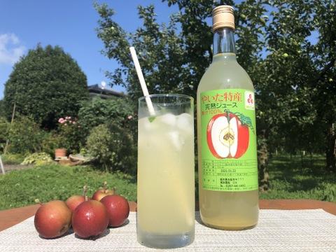 リンゴオーレが美味しい!まぼろしのりんごと呼ばれる栃木県矢板市から、樹上完熟サンふじのリンゴジュース2本入り箱2セット。