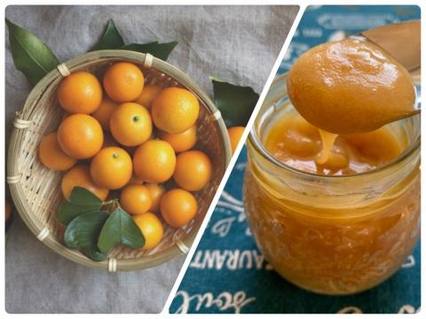 【みつばちの贈り物】蜂蜜1個(110g)と金柑500g