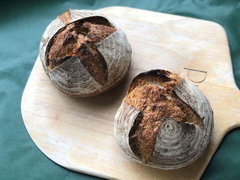 【超貴重な有機JAS認証パン】パンセット⑤:麦の栽培から一貫生産 自然栽培小麦のみ使用したフランス田舎パン