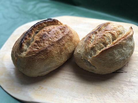 【超貴重な有機JAS認証パン】パンセット⑲:自然栽培小麦のみ使用したクッペ2個