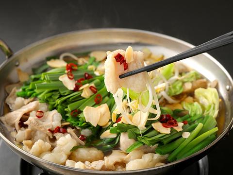 肉のたかむく もつ鍋セット 8~10人前 黒毛和牛 特選ホルモン 500g×2 もつ鍋スープ(7倍希釈) 30g×8袋