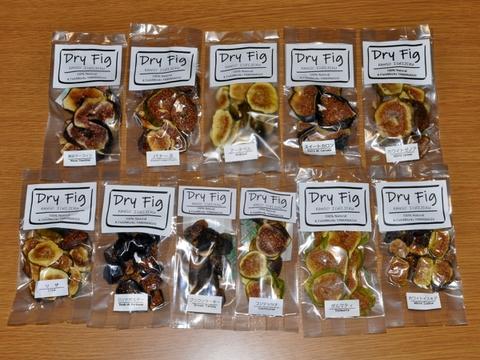 無農薬国産ドライイチジク スモールパック  全ラインナップ11種セット