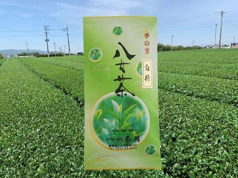 【ネコポス便】(国産)緑茶 八女茶 白折100g【1袋】