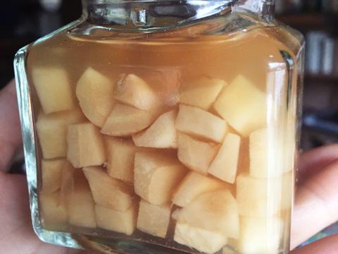 赤新生姜の甘酢漬け