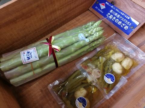 【B級品】超極太3L‐1㎏&【新商品】アヒージョ2袋 美味しさはA級品!!一度食べてもらいたい!うちのアスパラ&アヒージョ