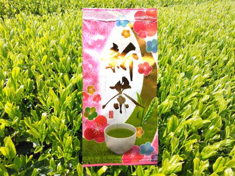 【2021年走り新茶】【3袋セット】走り新茶 あじわい 80g 深蒸し茶