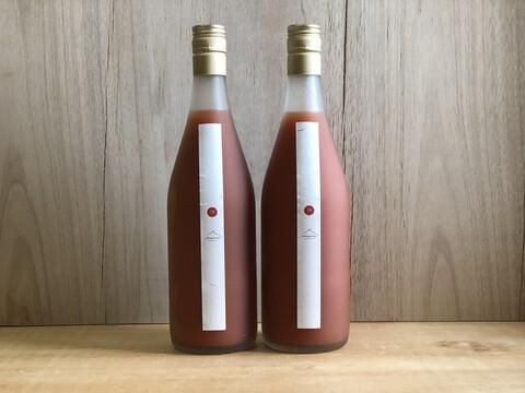 【北海道発】百姓のいえのトマトジュース 710ml入り×4本セット