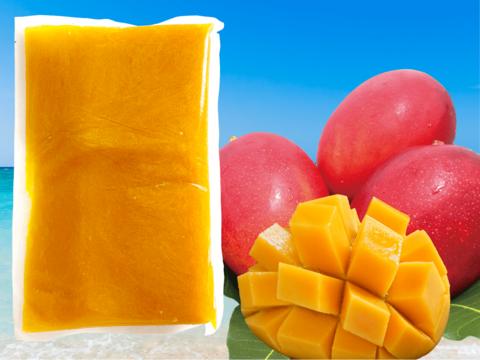 【沖縄県産】冷凍 燦々マンゴー(ピューレ) 1袋1kg入り