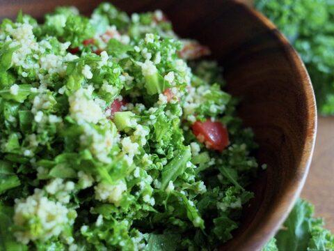 【ちょいモリサイズ】フリフリが可愛いサラダ用カリーノケール