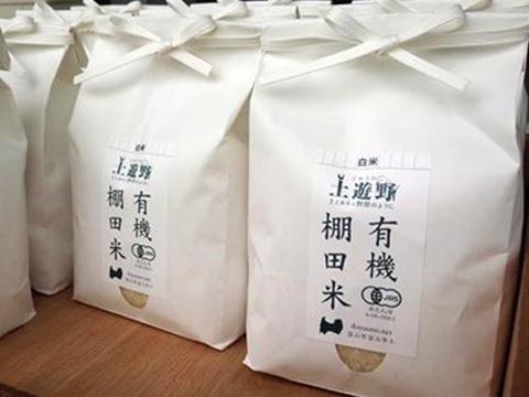 【土遊野】【令和元年度産】有機棚田米コシヒカリ5kg